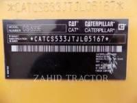 CATERPILLAR TRILLENDE ENKELE TROMMEL GLAD CS-533E equipment  photo 6