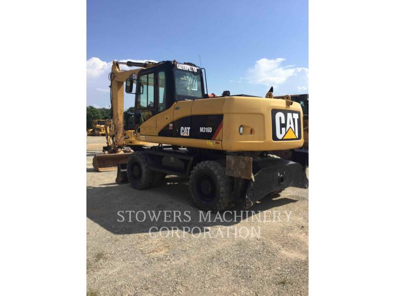 CATERPILLAR TRACK EXCAVATORS M316 equipment  photo 4