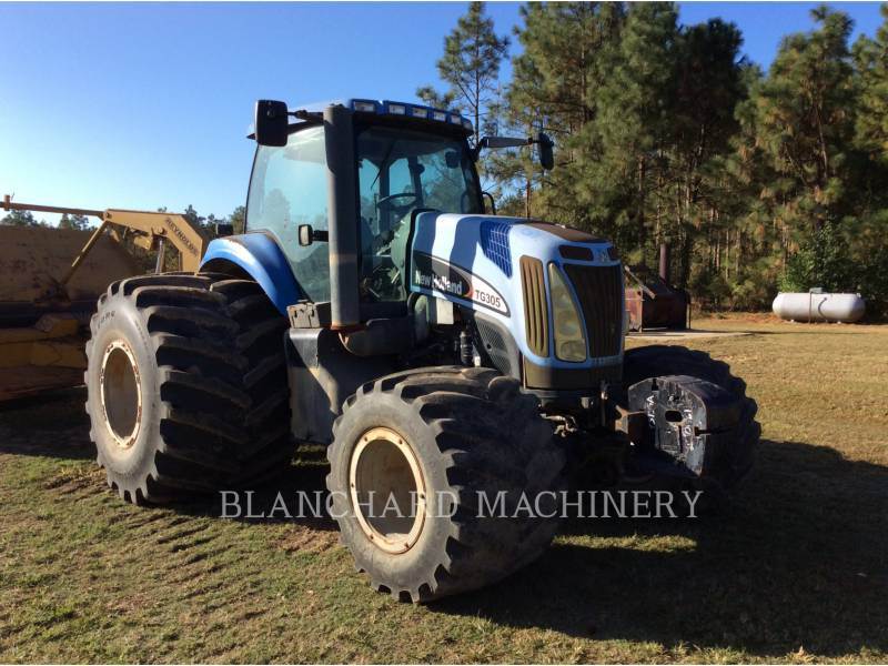 NEW HOLLAND LTD. AG TRACTORS TG305 equipment  photo 1