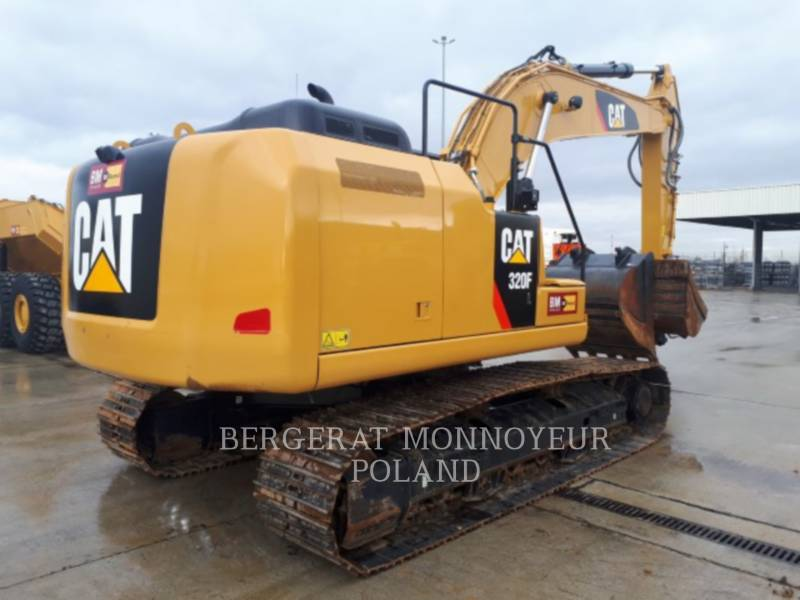 CATERPILLAR KETTEN-HYDRAULIKBAGGER 320FL equipment  photo 8