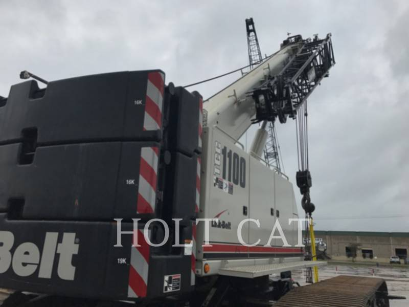 LINK-BELT CONST. CRANES TCC 1100 equipment  photo 5