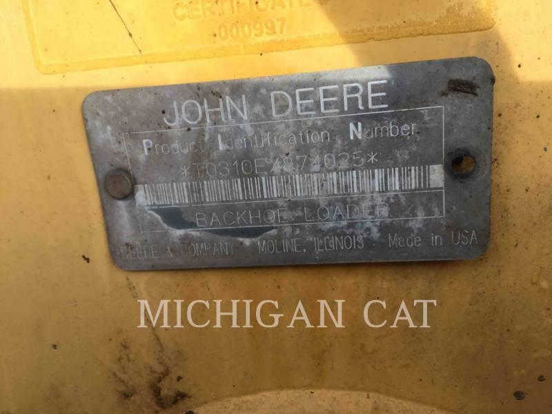 JOHN DEERE BACKHOE LOADERS 310E equipment  photo 15