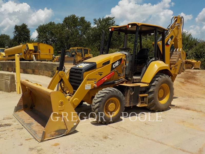 CATERPILLAR RETROEXCAVADORAS CARGADORAS 416F equipment  photo 1