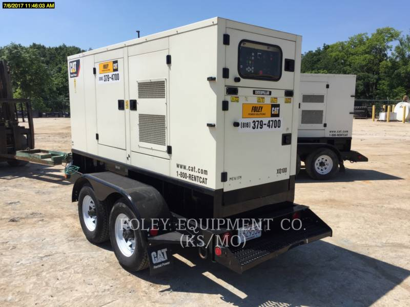 OLYMPIAN CAT PORTABLE GENERATOR SETS XQ100 equipment  photo 1