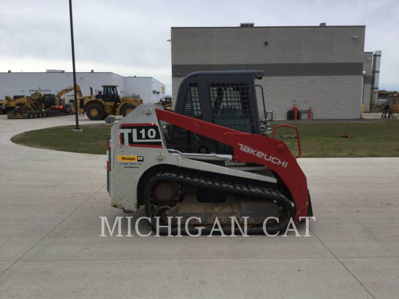 TAKEUCHI MFG. CO. LTD. CARGADORES MULTITERRENO TL10 equipment  photo 13
