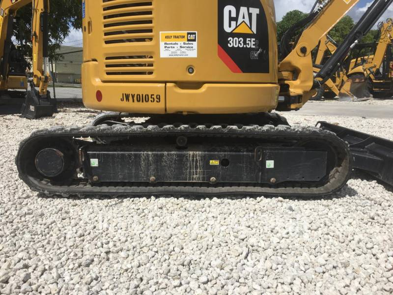 CATERPILLAR TRACK EXCAVATORS 303.5E2CR equipment  photo 10