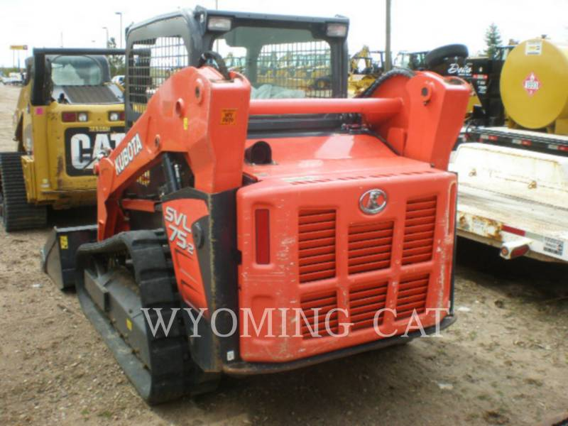 KUBOTA TRACTOR CORPORATION SKID STEER LOADERS SVL75-2 equipment  photo 5