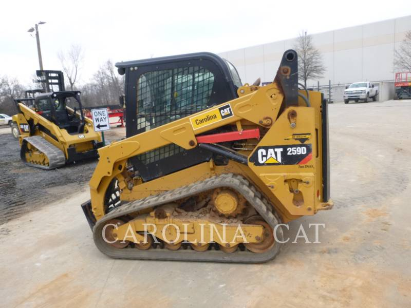 CATERPILLAR CHARGEURS SUR CHAINES 259D CB equipment  photo 5