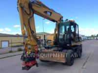 CATERPILLAR ESCAVADEIRAS DE RODAS M318C equipment  photo 5