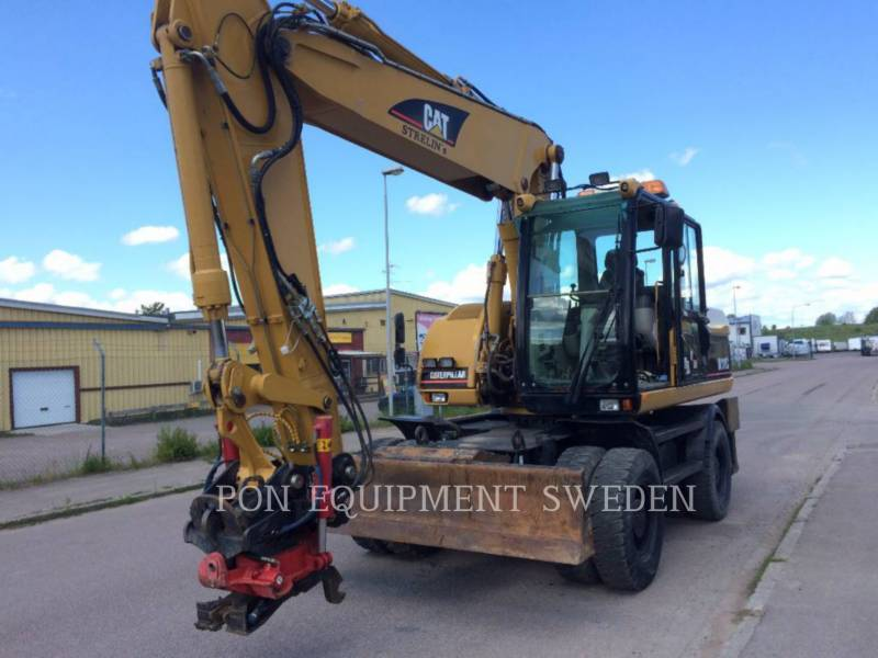 CATERPILLAR WHEEL EXCAVATORS M318C equipment  photo 5