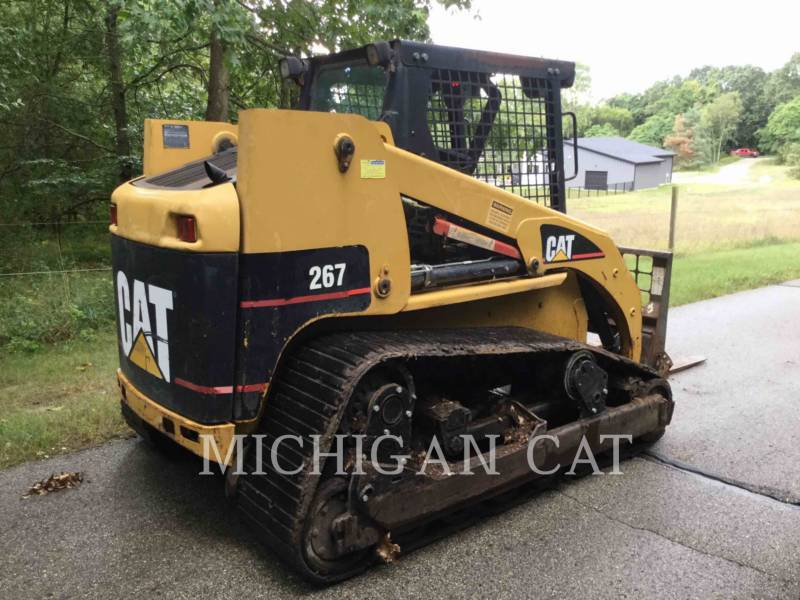 CATERPILLAR MULTI TERRAIN LOADERS 267 equipment  photo 5