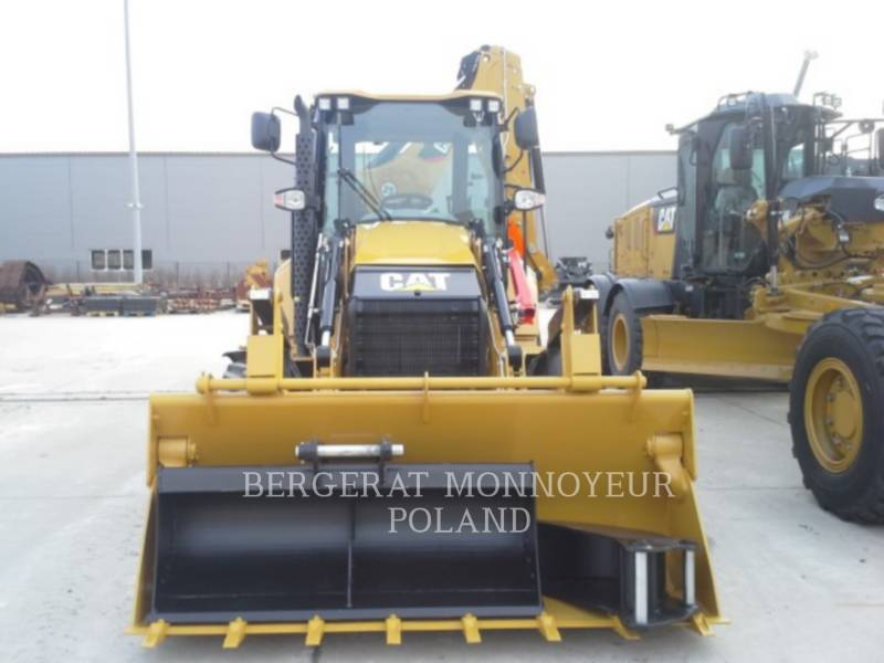CATERPILLAR BAGGERLADER 428F equipment  photo 5
