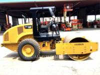 CATERPILLAR VIBRATORY SINGLE DRUM SMOOTH CS44B equipment  photo 2