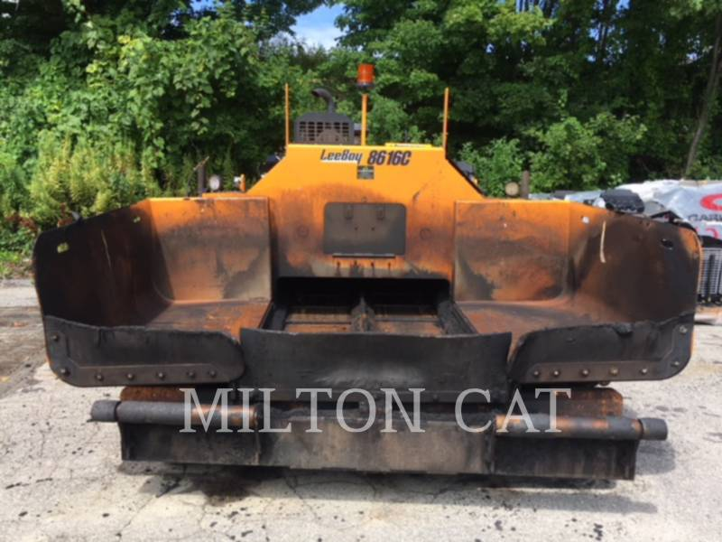 LEE-BOY ASPHALT PAVERS 8616B equipment  photo 2