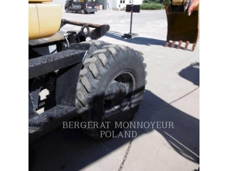 CATERPILLAR ESCAVATORI GOMMATI M313D equipment  photo 9