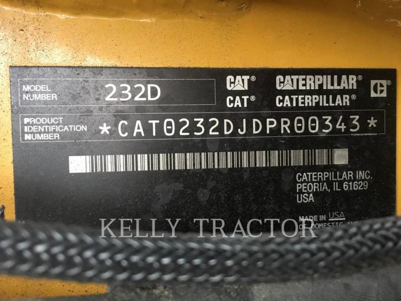CATERPILLAR MINICARGADORAS 232D equipment  photo 17