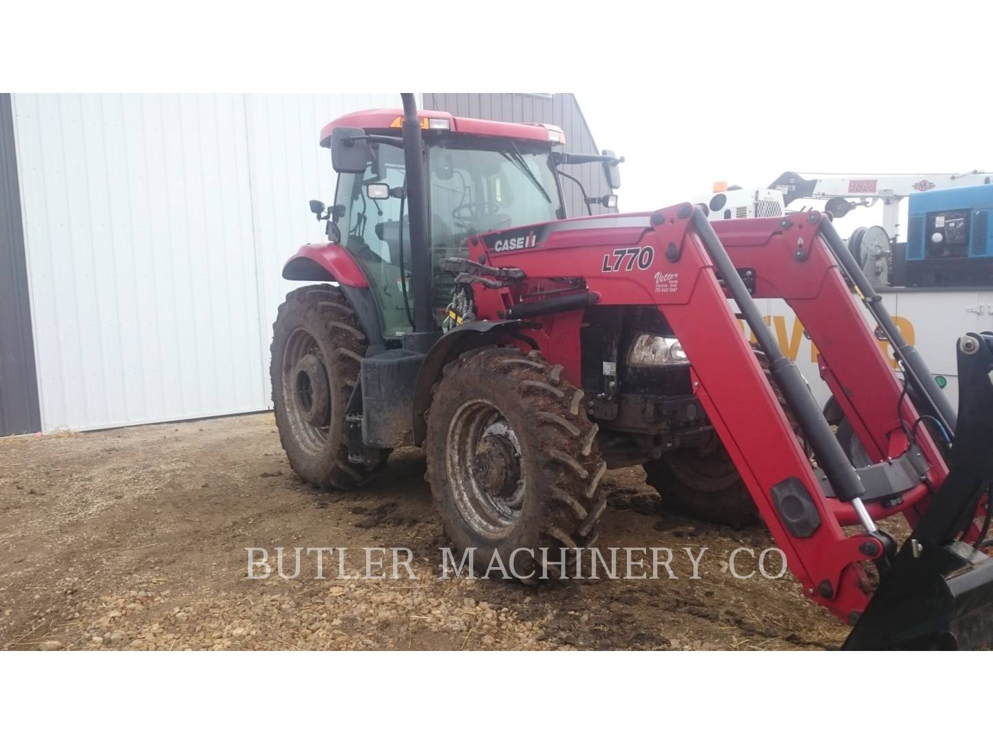 Detail photo of 2014 Case IH PUMA 160 from Construction Equipment Guide