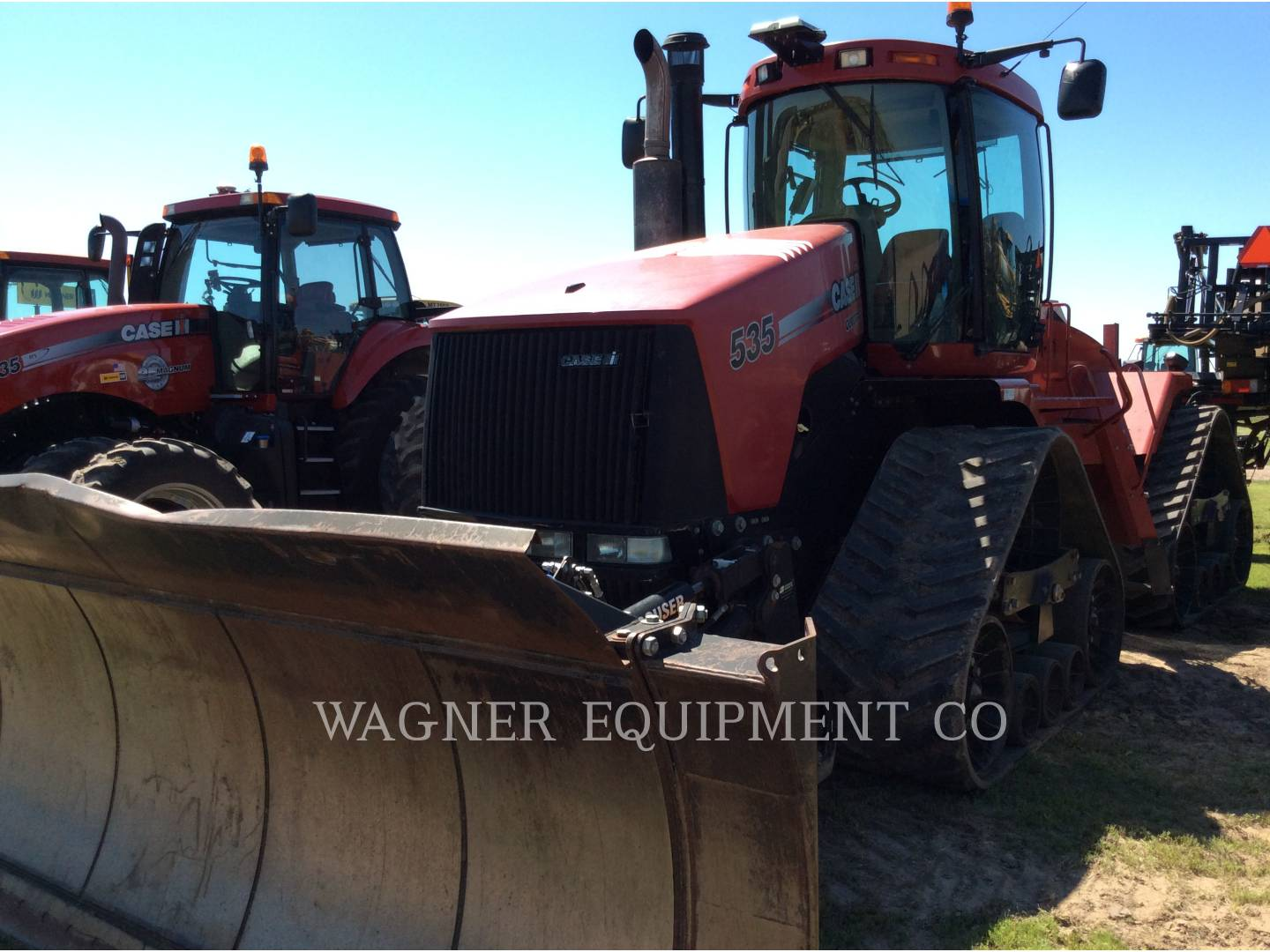Detail photo of 2013 Case IH 535 QUAD T from Construction Equipment Guide