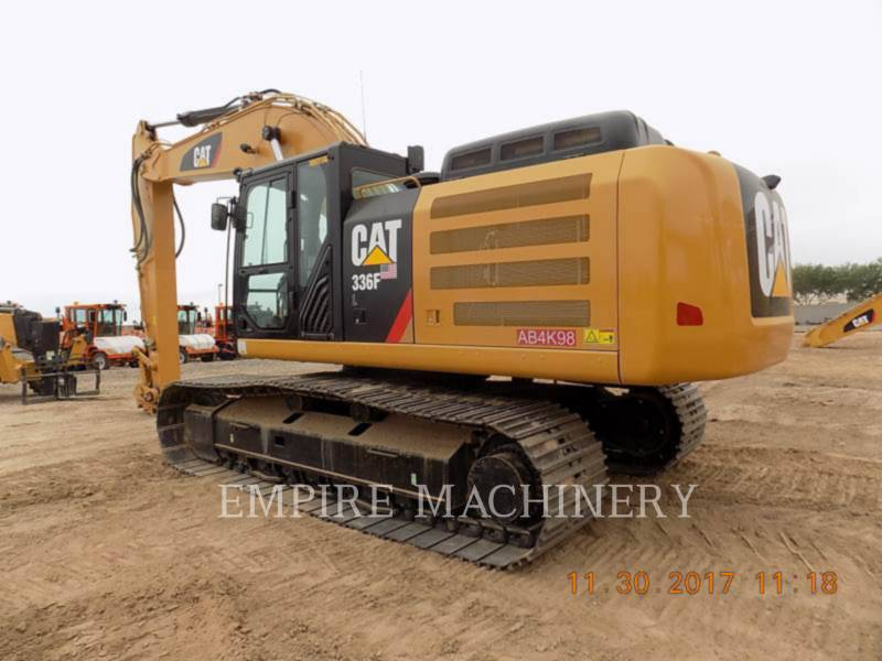 CATERPILLAR KOPARKI GĄSIENICOWE 336FL equipment  photo 3