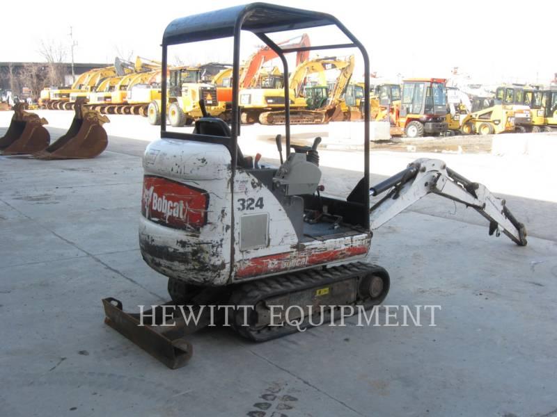BOBCAT TRACK EXCAVATORS 324 equipment  photo 2