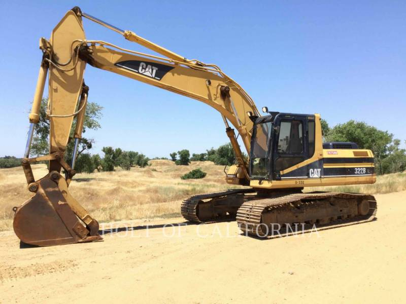 CATERPILLAR EXCAVADORAS DE CADENAS 322BL equipment  photo 1