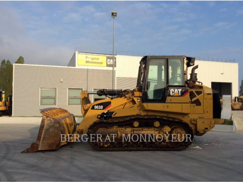 CATERPILLAR CHARGEURS SUR CHAINES 963D equipment  photo 1