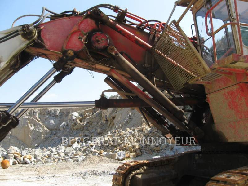 O&K PELLE MINIERE EN BUTTE RH40 equipment  photo 9