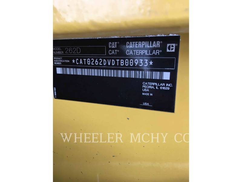 CATERPILLAR CHARGEURS COMPACTS RIGIDES 262D C3-H2 equipment  photo 2
