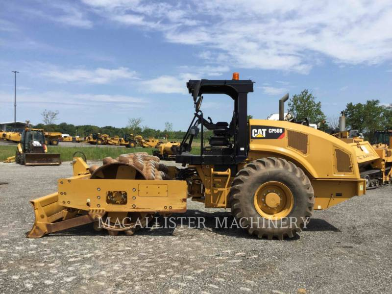 CATERPILLAR COMPATTATORE A SINGOLO TAMBURO VIBRANTE TASSELLATO CP56B equipment  photo 5