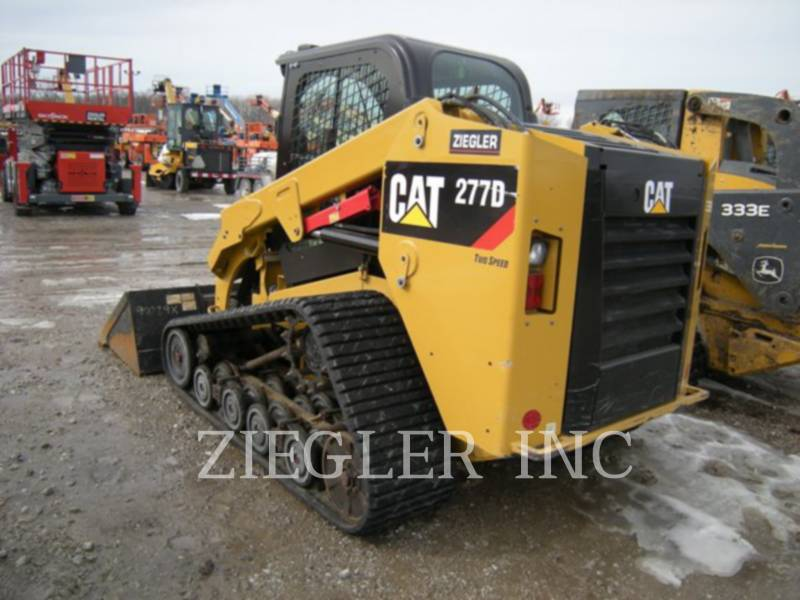 CATERPILLAR MULTI TERRAIN LOADERS 277D equipment  photo 4