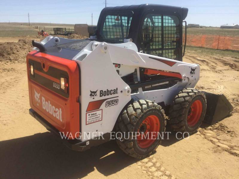 BOBCAT SKID STEER LOADERS S550 equipment  photo 3