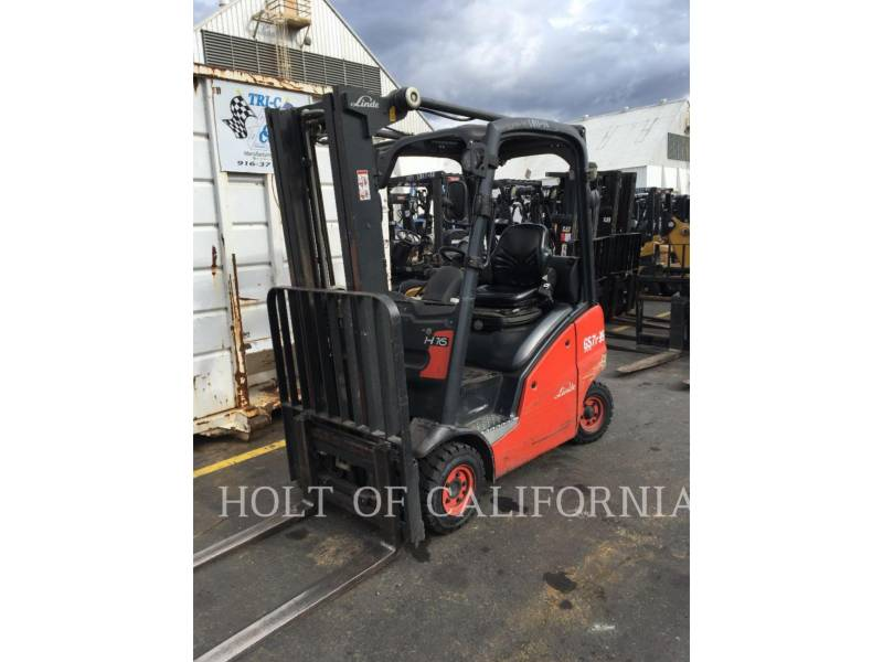 LINDE MONTACARGAS H16D equipment  photo 1