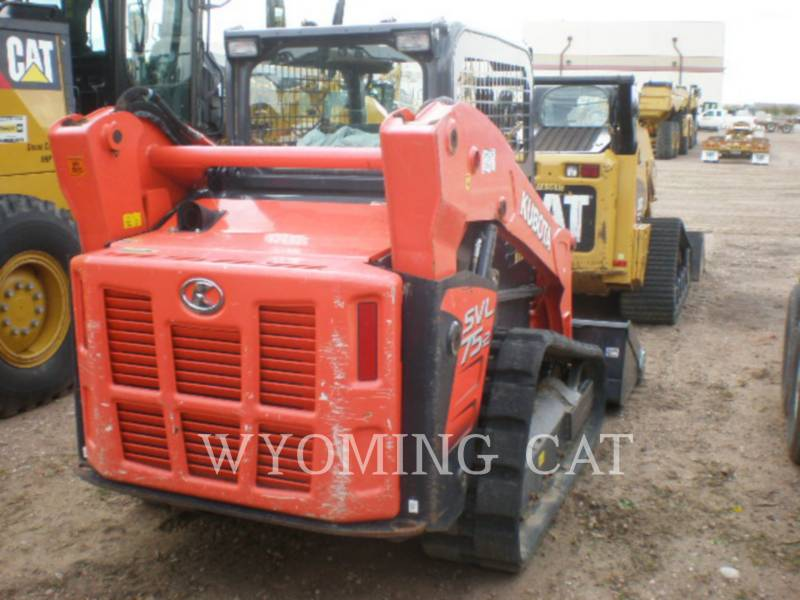 KUBOTA TRACTOR CORPORATION MINICARGADORAS SVL75-2 equipment  photo 10