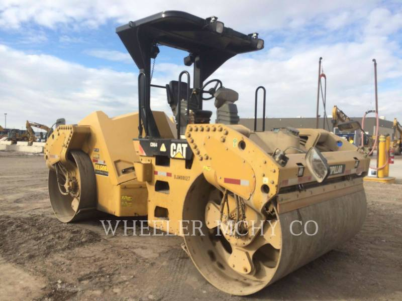 CATERPILLAR TANDEMOWY WALEC WIBRACYJNY DO ASFALTU (STAL-STAL) CB64 equipment  photo 3