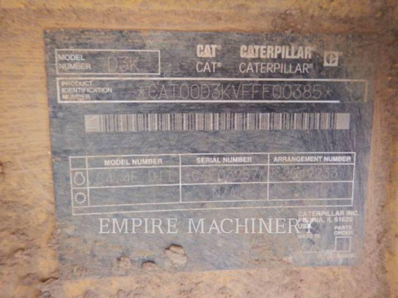 CATERPILLAR KETTENDOZER D3KXL equipment  photo 6