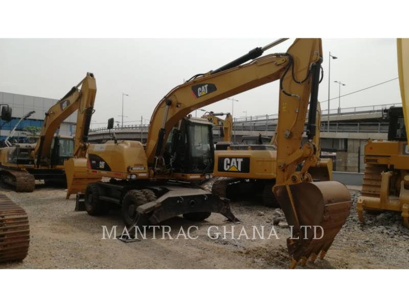 CATERPILLAR PELLES SUR PNEUS M317 D2 equipment  photo 2