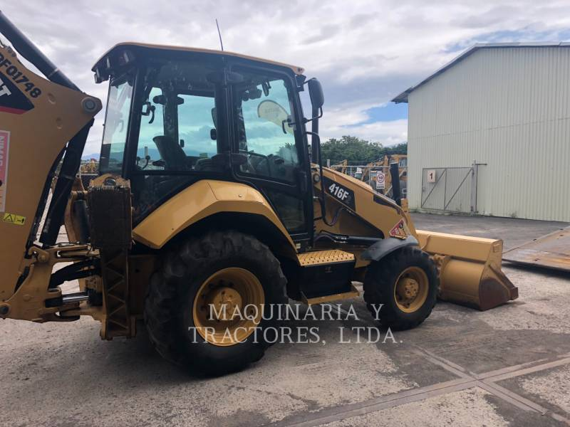 CATERPILLAR RETROESCAVADEIRAS 416F2STLRC equipment  photo 3