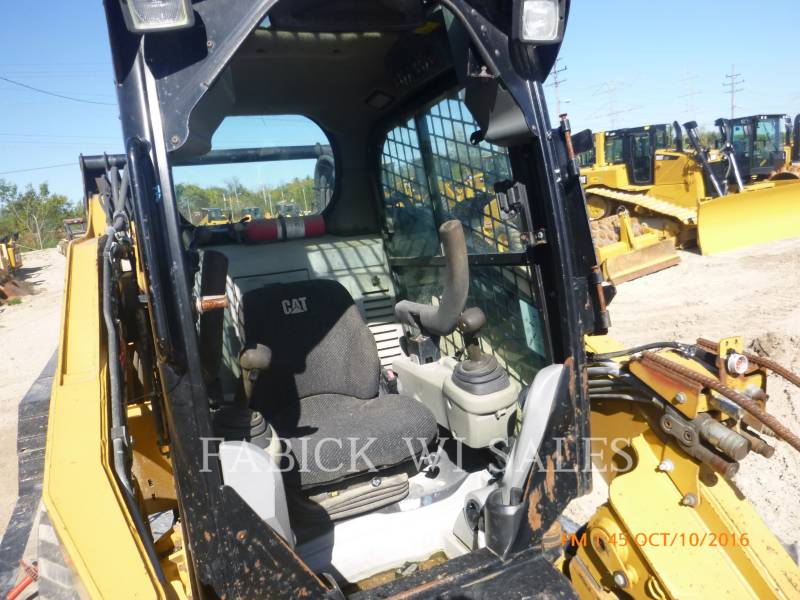 CATERPILLAR SKID STEER LOADERS 262C equipment  photo 6