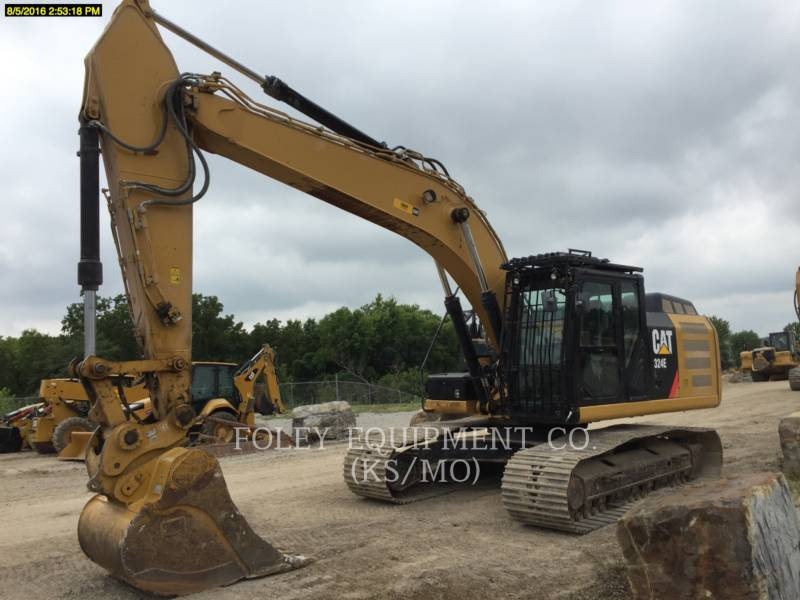 CATERPILLAR TRACK EXCAVATORS 324EL9MP equipment  photo 1