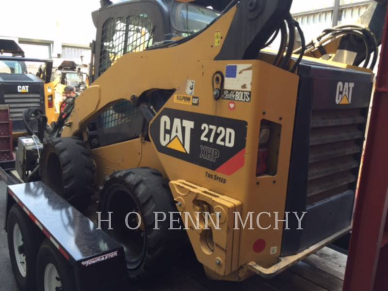 CATERPILLAR スキッド・ステア・ローダ 272DXHP equipment  photo 13
