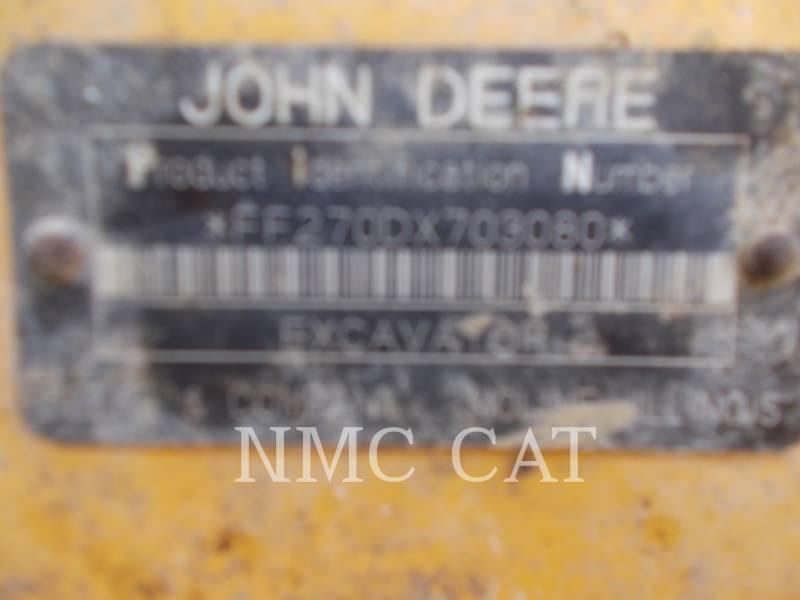 JOHN DEERE PELLES SUR CHAINES 270DLC_JD equipment  photo 6