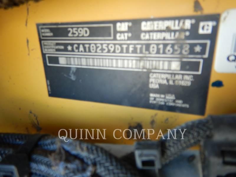 CATERPILLAR DELTALADER 259D equipment  photo 8