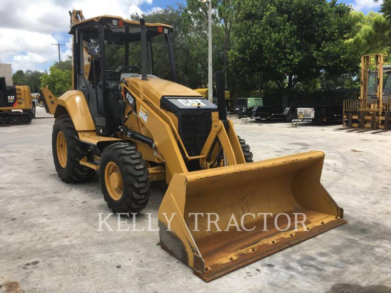 CATERPILLAR BAGGERLADER 415F2ST equipment  photo 7
