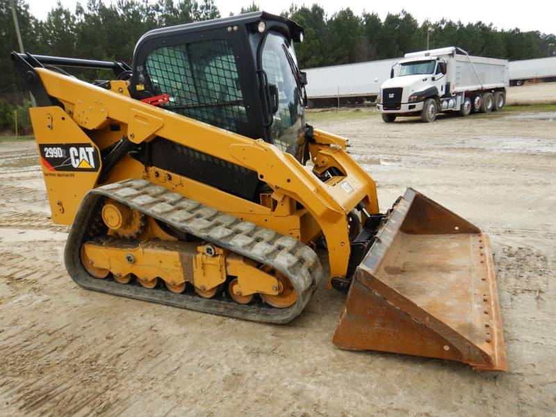 CATERPILLAR MULTI TERRAIN LOADERS 299D2 equipment  photo 2