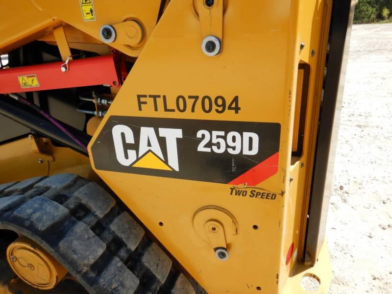 CATERPILLAR CARGADORES MULTITERRENO 259D equipment  photo 24