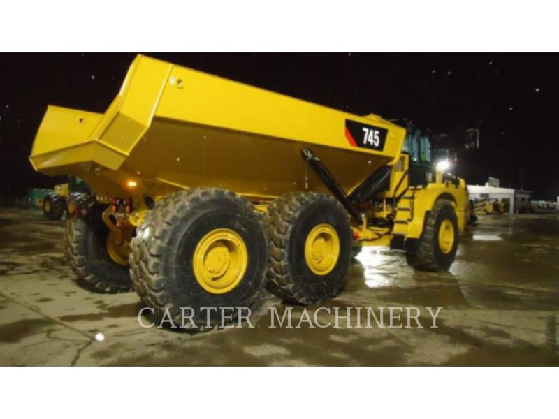 CATERPILLAR KNIKGESTUURDE TRUCKS 745-04 equipment  photo 3