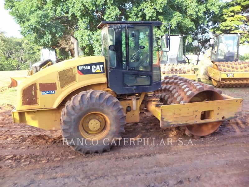 CATERPILLAR SOPORTE DE TAMBOR ÚNICO VIBRATORIO CP54B equipment  photo 2