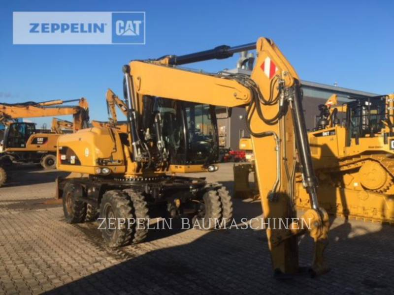 CATERPILLAR PELLES SUR PNEUS M322D equipment  photo 5