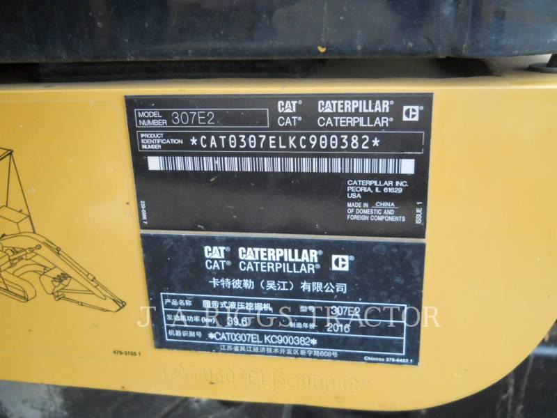 CATERPILLAR TRACK EXCAVATORS 307E equipment  photo 23
