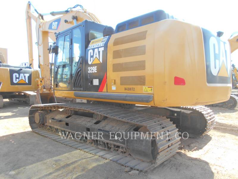 CATERPILLAR TRACK EXCAVATORS 329EL equipment  photo 2